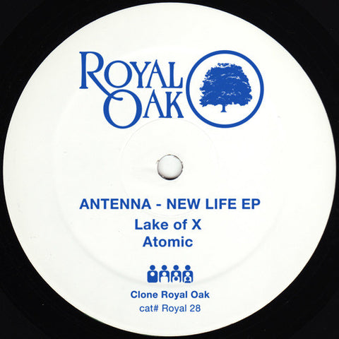 "Antenna - New Life EP - 12"" - Royal Oak - Royal28"