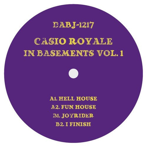 "Casio Royale - In Basements Vol 1 - 12"" - Dixon Avenue Basement Jams - DABJ 1217"