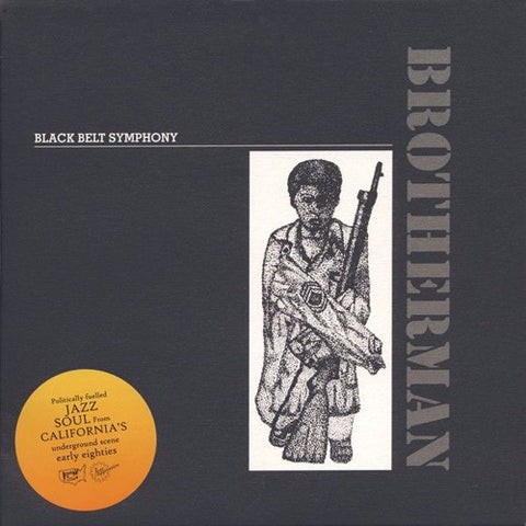 "Black Belt Symphony - Brotherman - 7"" - Jazzaggression Records - JA7-703"