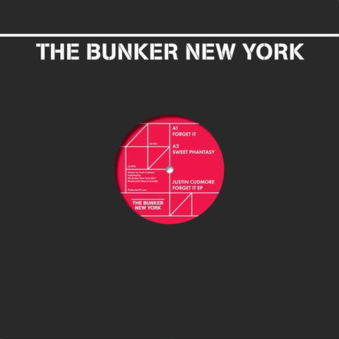 "Justin Cudmore - Forget It - 12"" - The Bunker New York - BK022"