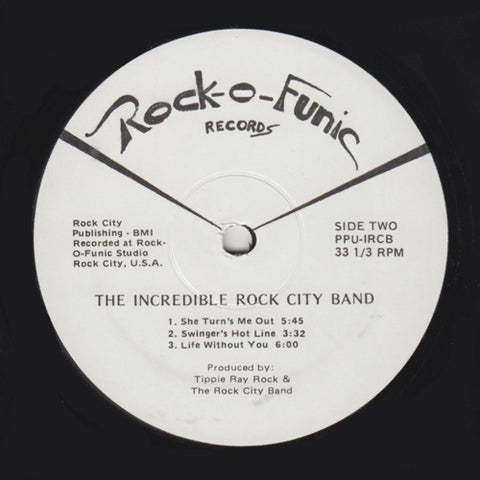 "The Incredible Rock City Band - Invasion of the Rock-O-Mites - 12"" - Peoples Potential Unlimited - PPU-ICRB"