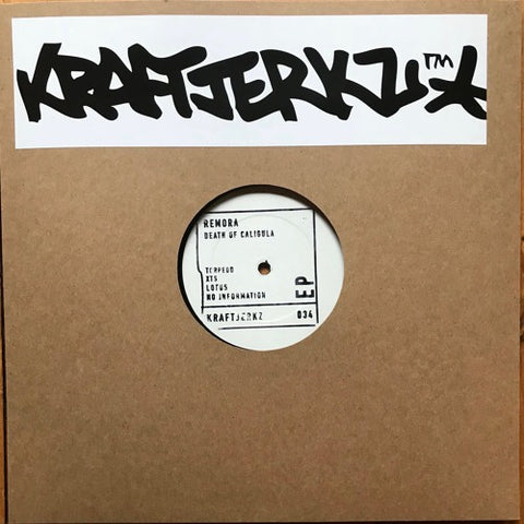 "Remora - Death of Caligula EP - 12"" - Kraftjerkz - 034"
