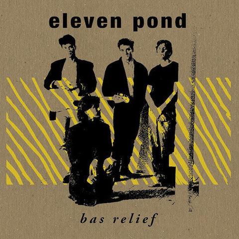Eleven Pond - Bas Relief - LP - Dark Entries - DE-001