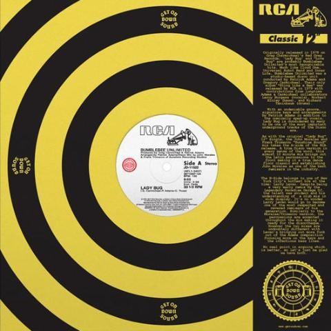 "Bumblebee Unlimited - Lady Bug - 12"" - Get On Down - GET 12007-12"