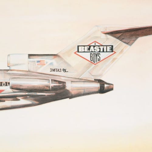 Beastie Boys - Licensed to Ill - LP - Def Jam Recordings - B0024720-01
