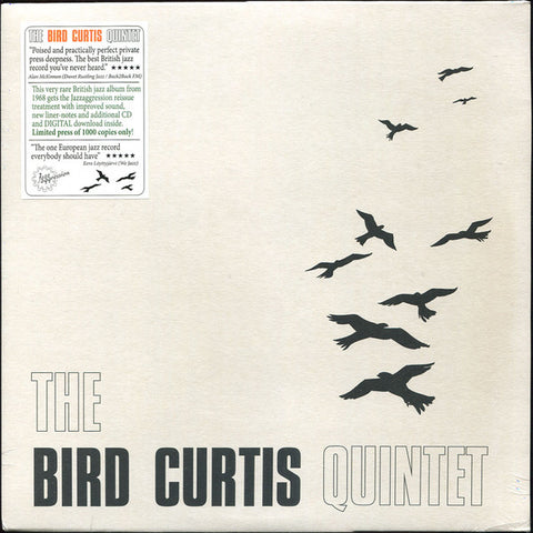 Bird Curtis Quintet - LP+CD - Jazzaggression Records - JALP712