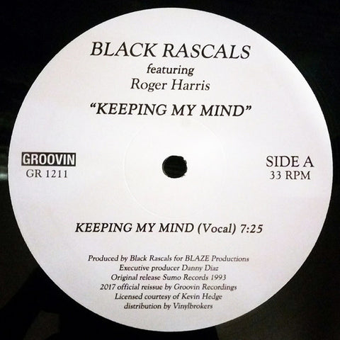 "Black Rascals - Keeping My Mind - 12"" - Groovin Recordings - GR 1211"