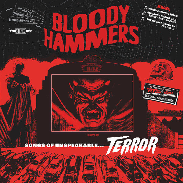 Bloody Hammers -  Songs Of Unspeakable...Terror - LP - Napalm Records ‎- NPR1005VINYL