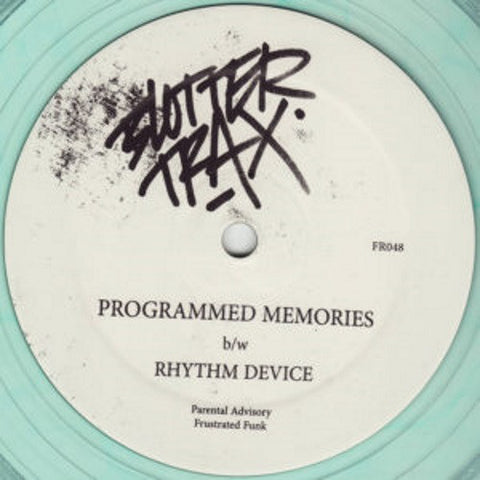 "Blotter Trax - Programmed Memories / Rhythm Device - 12"" - Frustrated Funk - FR048"