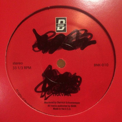 "Unknown Artist - 12"" - BANK Records NYC - BNK010"