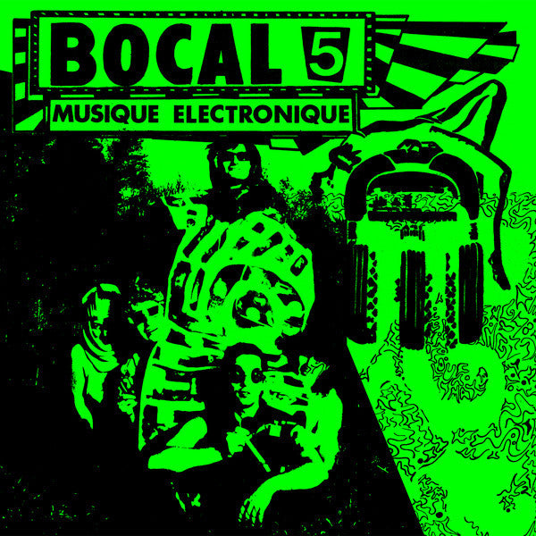 Bocal 5 - Musique Électronique - LP - Dark Entries - DE-137