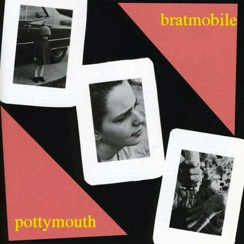 Bratmobile - Pottymouth - LP - Kill Rock Stars - KRS-208