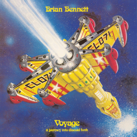 Brian Bennett - Voyage: A Journey Into Discoid Funk - LP - Isle of Jura - ISLELP001