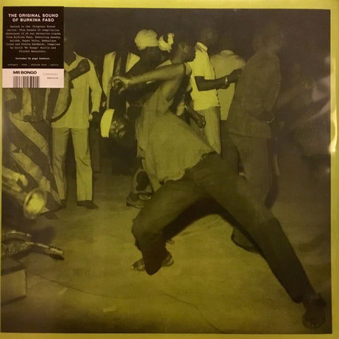 VA - The Original Sound of Burkina Faso - 2xLP - Mr Bongo - MRBLP152