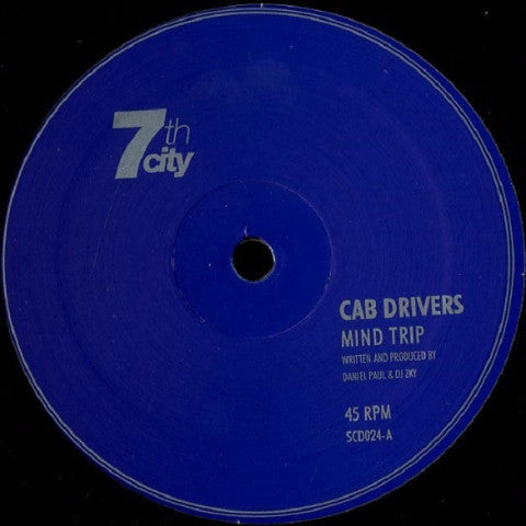"Cab Drivers / Altitude - Mind Trip / Framework - 12"" - 7th City -  SCD 024"