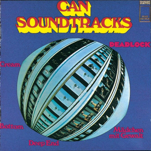 Can - Soundtracks - LP - Spoon Records /  Mute - XSPOON5