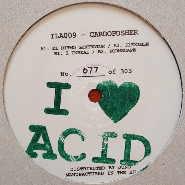 "Cardopusher - 12"" - I Love Acid - ILA009"