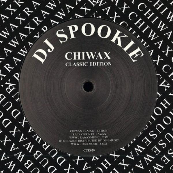 "DJ Spookie - What - 12"" - Chiwax Classic Edition - CCE029"