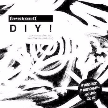 VA - Cease & Desist DIY Cult Classics From The Post-Punk Era 1978-82 - 2xLP - Optimo Music - OMDIYLP