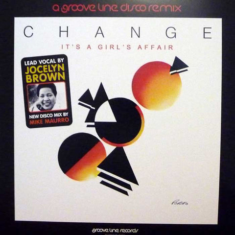 "Change - It's a Girl's Affair / Searching - 12"" - Groove Line Records - GLRMX12 0001"