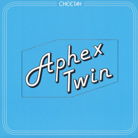 "Aphex Twin - Cheetah EP - 12"" - Warp Records - WAP391"
