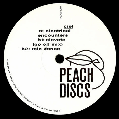 "Ciel - Electrical Encounters - 12"" - Peach Discs - PEACH004"