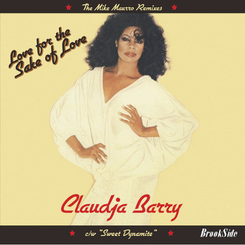 "Claudja Barry - Love For The Sake Of Love / Sweet Dynamite - 12"" - Brookside - BR07"