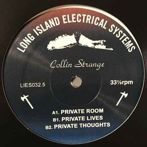 "Collin Strange - Private Room - 12"" - LIES 032.5"