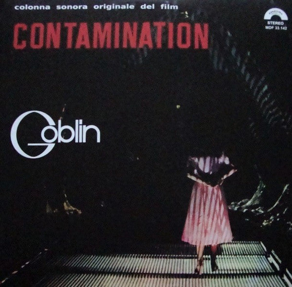Goblin - Contamination - LP - AMS / Cinevox - AMS LP 39 / MDF 33.142