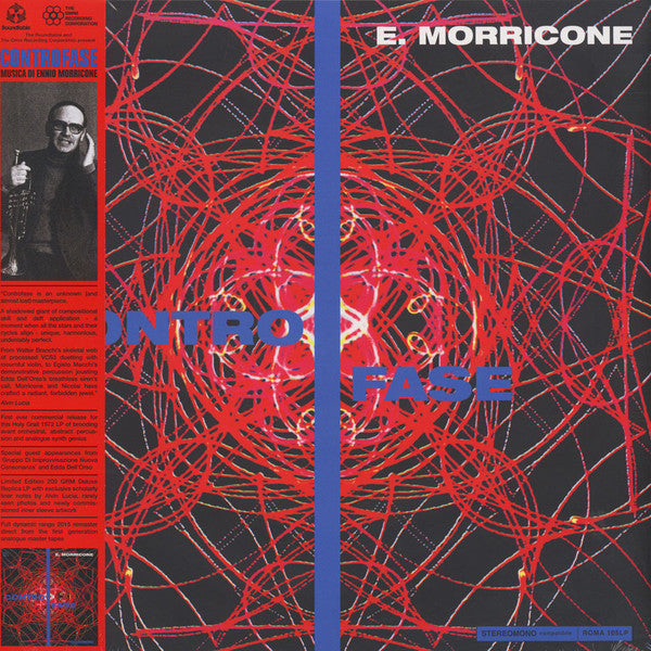 E. Morricone - Controfase - LP - The Omni Recording Corporation / The Roundtable - ROMA 105 LP