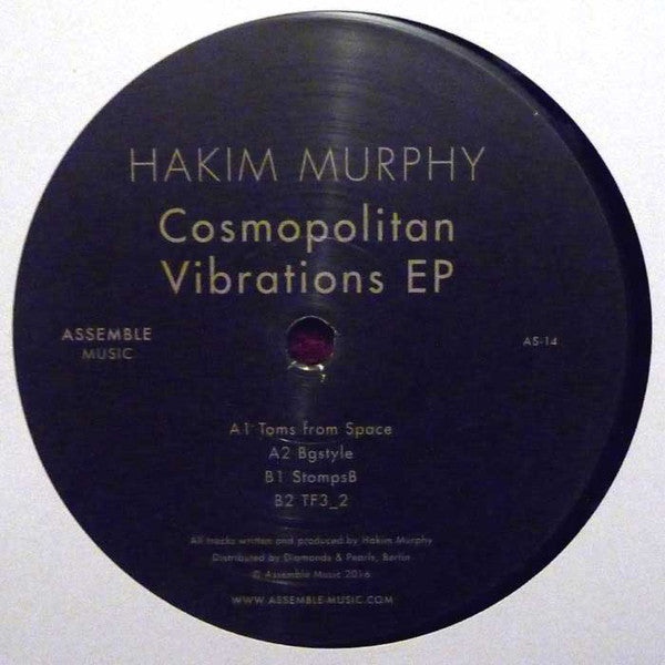 "Hakim Murphy - Cosmopolitan Vibrations EP - 12"" - Assemble Music - AS-14"