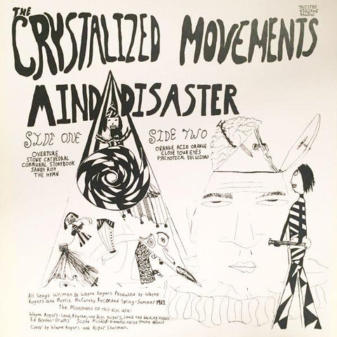 The Crystalized Movements - Mind Disaster - LP - Twisted Village - TW-1001
