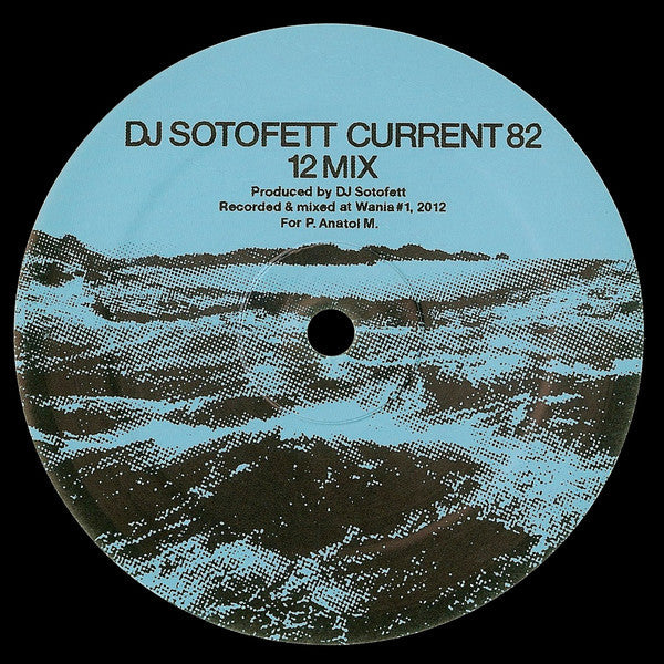 "DJ Sotofett / SVN - Current 82 (12 Mix) / Dark Plan 5 - 12"" - Keys of Life - LIFE12IN-27"