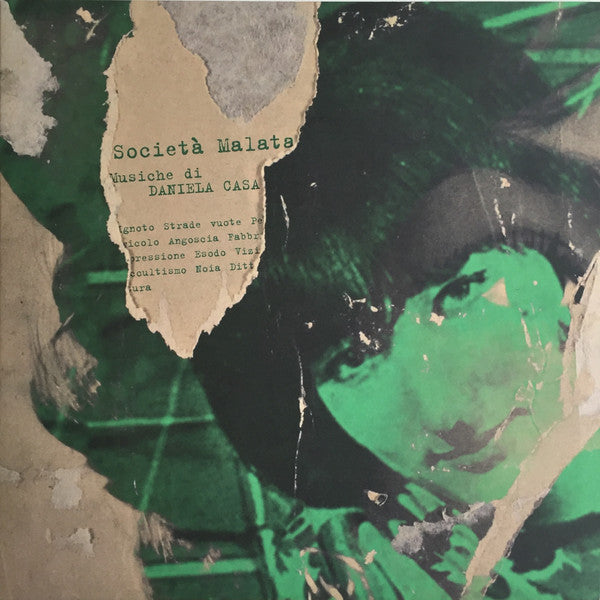 Daniela Casa - Societa Malata - LP - Dagored - RED305