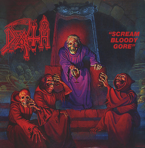 Death - Scream Bloody Gore - LP - Relapse Records - RR7324
