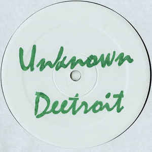 "Deetroit - Deetroit Conspiracy EP - 12"" - Unknown Deetroit - UDR222"