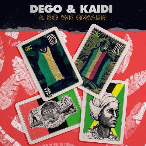 Dego & Kaidi - A So We Gwarn - Sound Signature - Cassette, CD, 2xLP