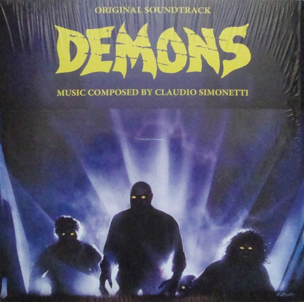 Claudio Simonetti - Demons - Original Soundtrack - Rustblade / Deep Red - RBL048LP2