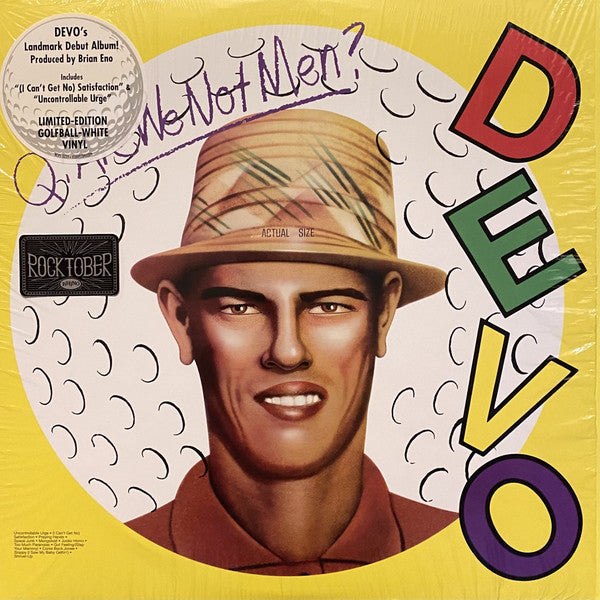 Devo - Q: Are We Not Men? A: We Are Devo! - LP -  Warner Records ‎- RCV5 3239