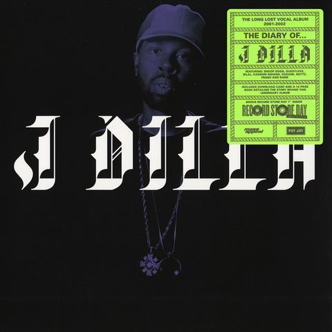 "J Dilla - The Diary - LP + 7"" - Pay Jay Productions ‎- PJ007"
