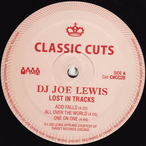 "DJ Joe Lewis - Lost in Tracks - 12"" - Clone - C#CC028"
