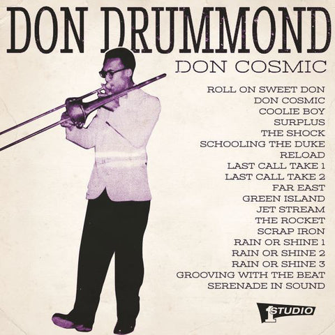 Don Drummond - Don Cosmic - 2xLP - Studio One - SOR-004