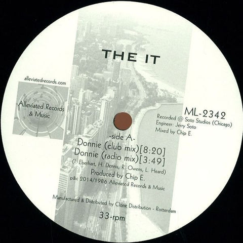 "The It - Donnie - 12"" - Alleviated Records - ML-2342"