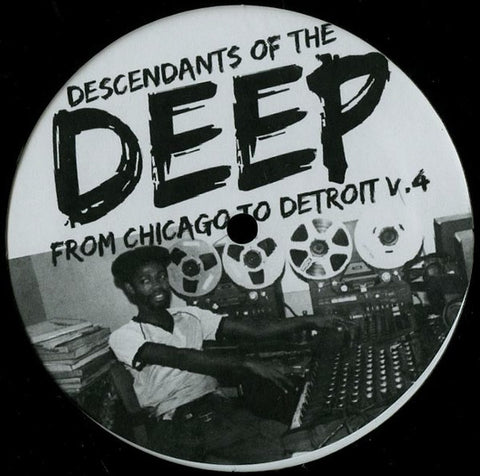 "VA - From Chicago to Detroit V4 - 12"" - Descendants of the Deep - DOFTD04"
