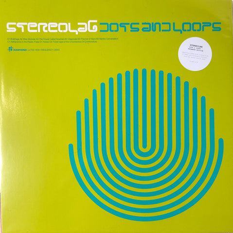 Stereolab - Dots And Loops - 3xLP - Duophonic Ultra High Frequency Disks - D-UHF-D17R