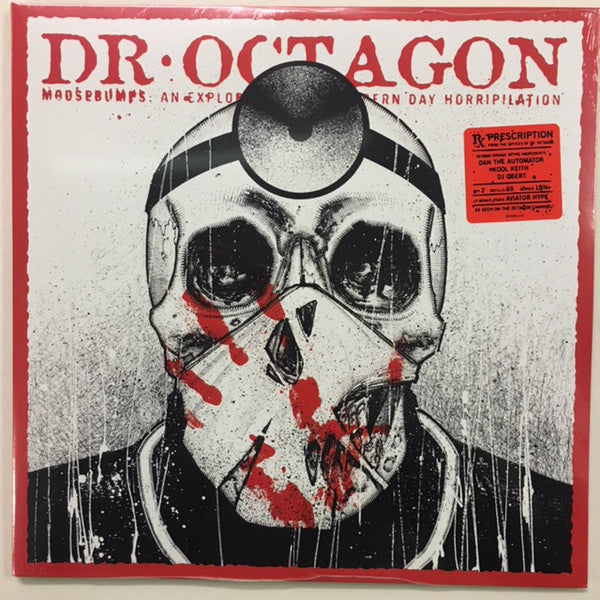 Dr. Octagon - Moosebumps: An Exploration Into Modern Day Horripilation - 2xLP - Bulk Recordings - BULK012LP