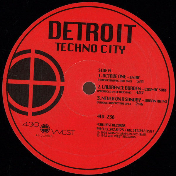 "VA - Detroit Techno City - 12"" - 430 West - 4W-236"