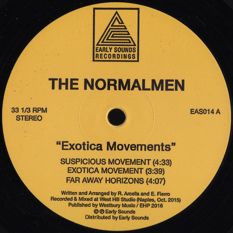 "The Normalmen - Exotica Movements - 12"" - Early Sounds Recordings - EAS014"