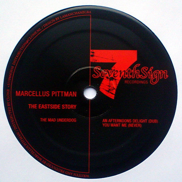 "Marcellus Pittman - The Eastside Story - 12"" - Seventh Sign - 7SR021"