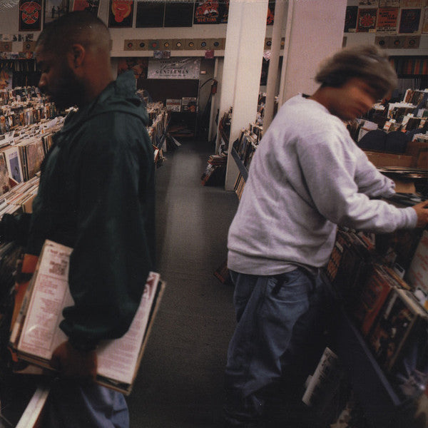 DJ Shadow - Endtroducing - 2xLP - Mo Wax / FFRR - 697-124 123-1